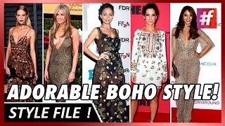 Sandra, Nicole, Jennifer, Poppy And Vanessa Rock The Boho Street Style!