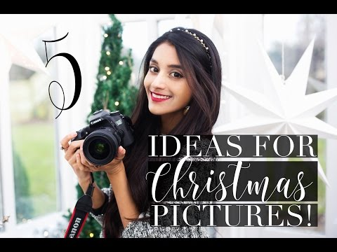 5 IDEAS FOR CREATIVE CHRISTMAS PICTURES! | 1 Day Til Xmas