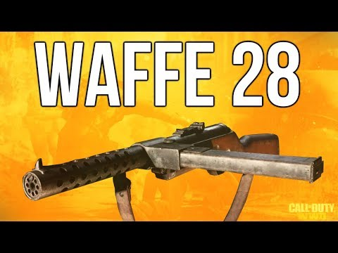 WW2 In Depth: Waffe 28 SMG Review (Call of Duty: WWII)