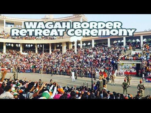 India Pakistan Wagah Border Retreat Ceremony