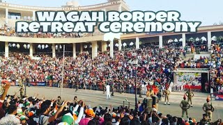 India Pakistan Wagah Border Retreat Ceremony