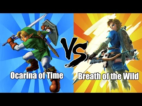 The Best Legend of Zelda Game - OOT Vs. BOTW