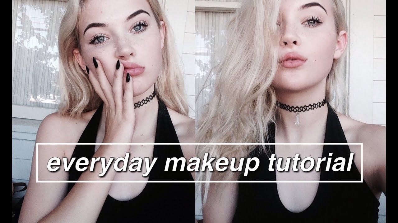 Everyday Makeup Tutorial Okaysage Youtube