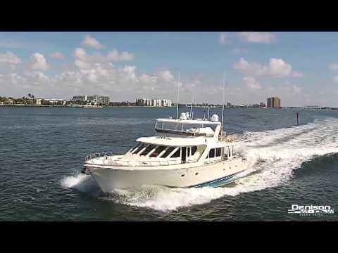 Offshore 72 Pilothouse [Drone]