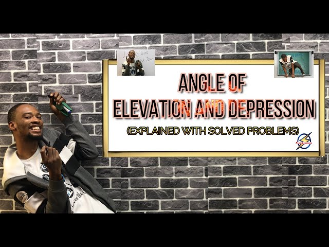 Angle of Elevation And Depression (Simplified)