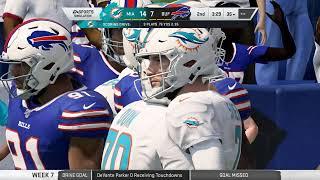 Madden NFL 20   09 01 2019 Week 07 Dolphins at Bills