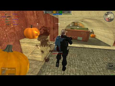 - Rush Team - Free FPS Browser Game - City Zone Halloween