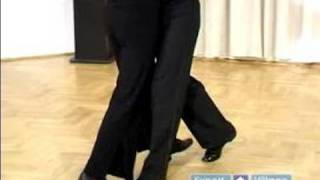 How to Dance the Foxtrot : Forward Rock Steps With Partner in Foxtrot Dancing