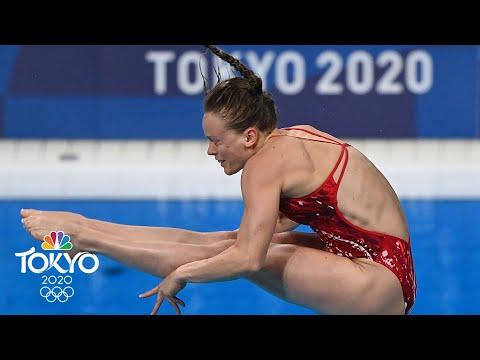U.S. divers Palmer and Hernandez advance to 3m springboard final   Tokyo Olympics   NBC Sports