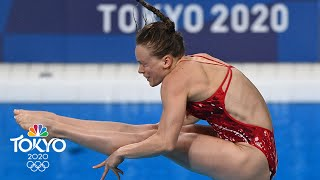 U.S. divers Palmer and Hernandez advance to 3m springboard final | Tokyo Olympics | NBC Sports