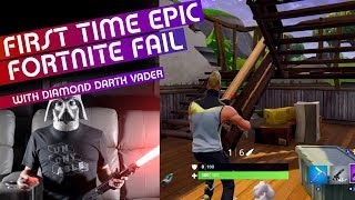 Failing at Fortnite with Diamond Darth Vader
