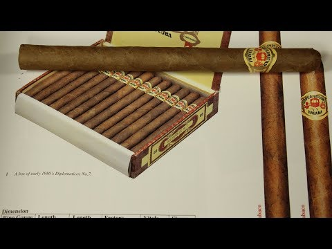 Diplomaticos No 6 Late 1970's early 80's cuban cigar review