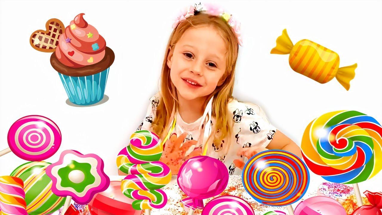 Download Nastya và Stacy đổi kẹo lấy đồ chơi, loạt phim vui nhộn mới dành cho trẻ em