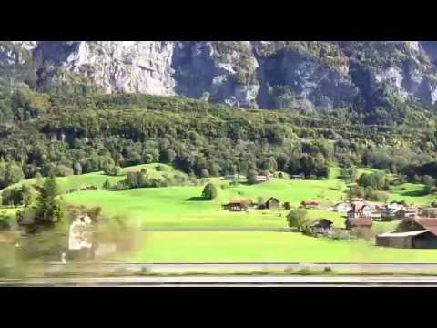 Switzerland - Zurich to Liechtenstein - Swissrail