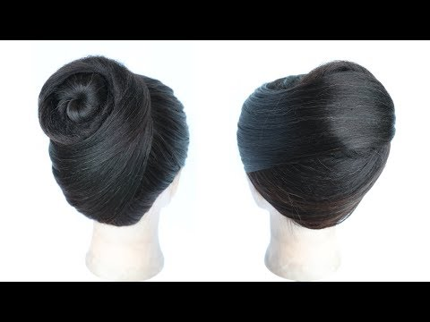 Juda Hairstyle In 3 Easy Way | Chignon Hairstyle | Elegant Hairstyle | Cute Hairstyles | Hairstyle