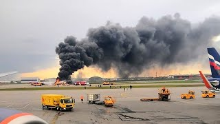 Passengers criticised for taking bags during plane inferno