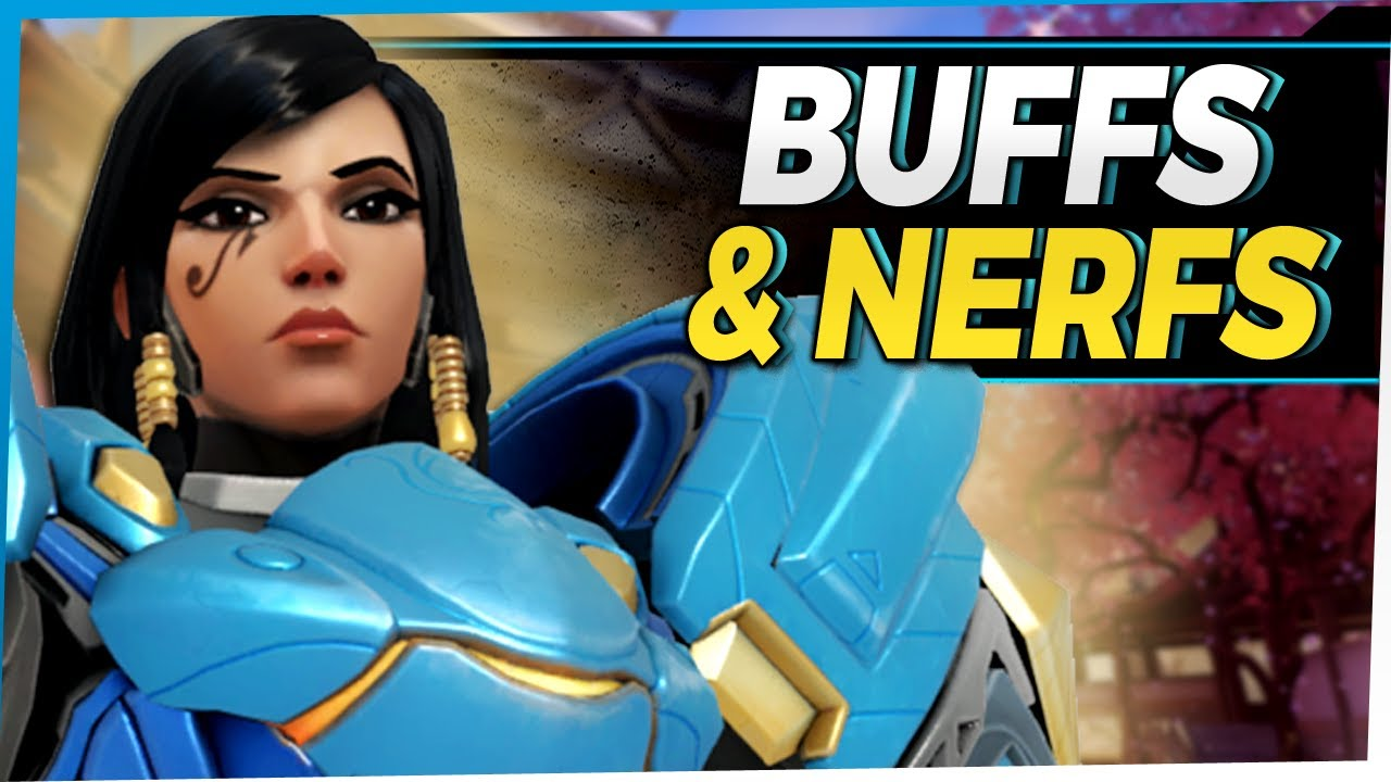 Overwatch New Patch! Buffs and Nerfs - Genji Reaper and More!