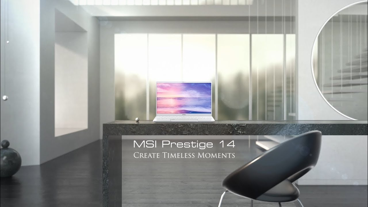 Create Timeless Moments wtih Prestige 14 Pure White | MSI