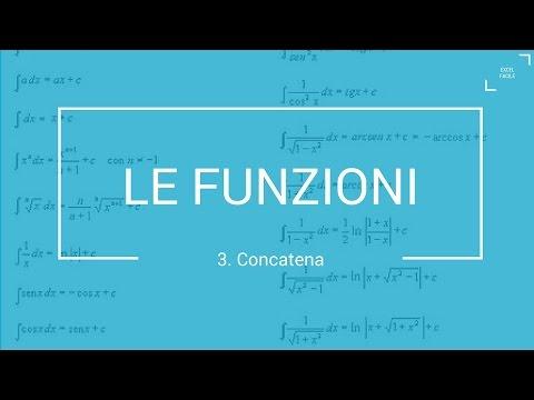 La Funzione Concatena - Excel Facile