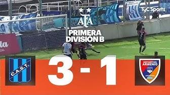 San Telmo 3 VS. Deportivo Armenio 1 | Fecha 9 | Primera División B 2019/2020