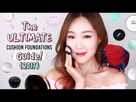 ULTIMATE Cushion Foundations Review & Guide 2017 | By Skin Type: Top 30 & Extra Tips/Info | meejmuse