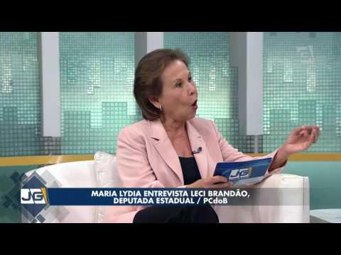 Maria Lydia entrevista Leci Brandão, deputada estadual/PC do B