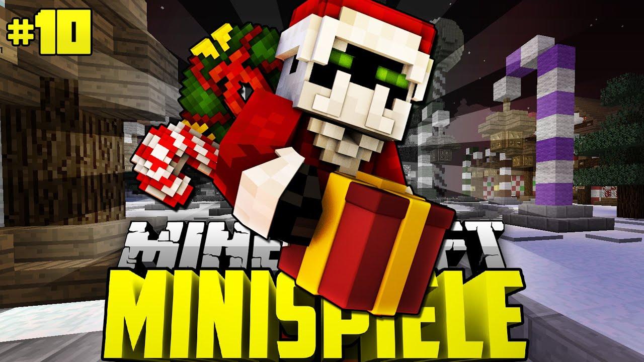 TÖDLICHE WEIHNACHTSBLÖCKE Minecraft Minispiele DeutschHD - Minecraft minispiele