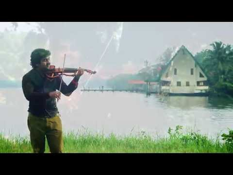 """Sreeragamo Thedunnu"" Abhijith P S Nair Ft. Sandeep Mohan (A Violin Cover)"
