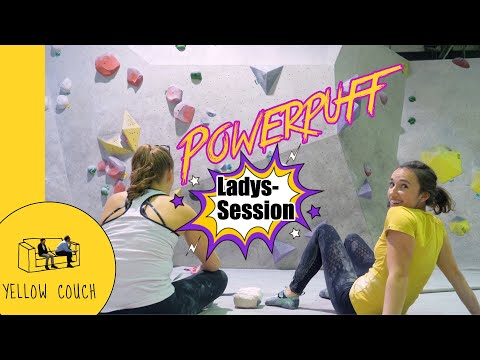 Girls Bouldering Session