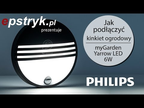 HOW TO CONNECT - Philips myGarden Yarrow LED garden wall lamp with motion sensor