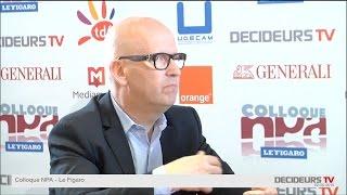 Colloque NPA-Le Figaro 2015 : Christophe Baujault, ECE