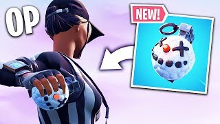 THE NEW GELING GRENADE IS TOO CHEAT! 🔥 THE BEST OF FORTNITE#109
