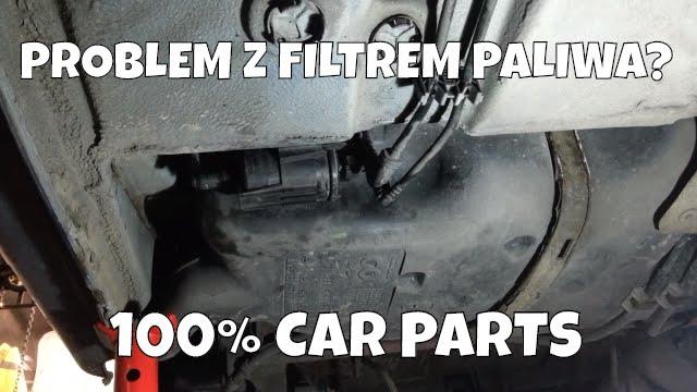 Wymiana Filtra Paliwa Peugeot 206 Youtube