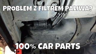 wymiana filtra paliwa peugeot 206