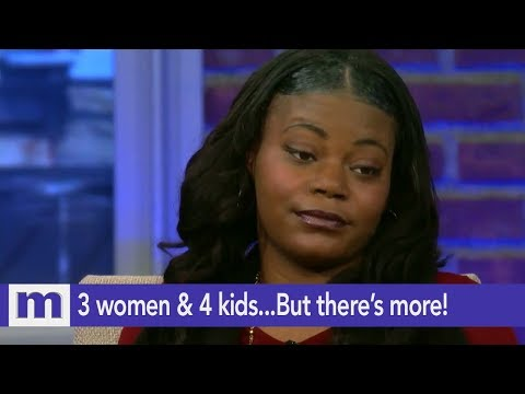 3 women & 4 kids...But there's more! | The Maury Show
