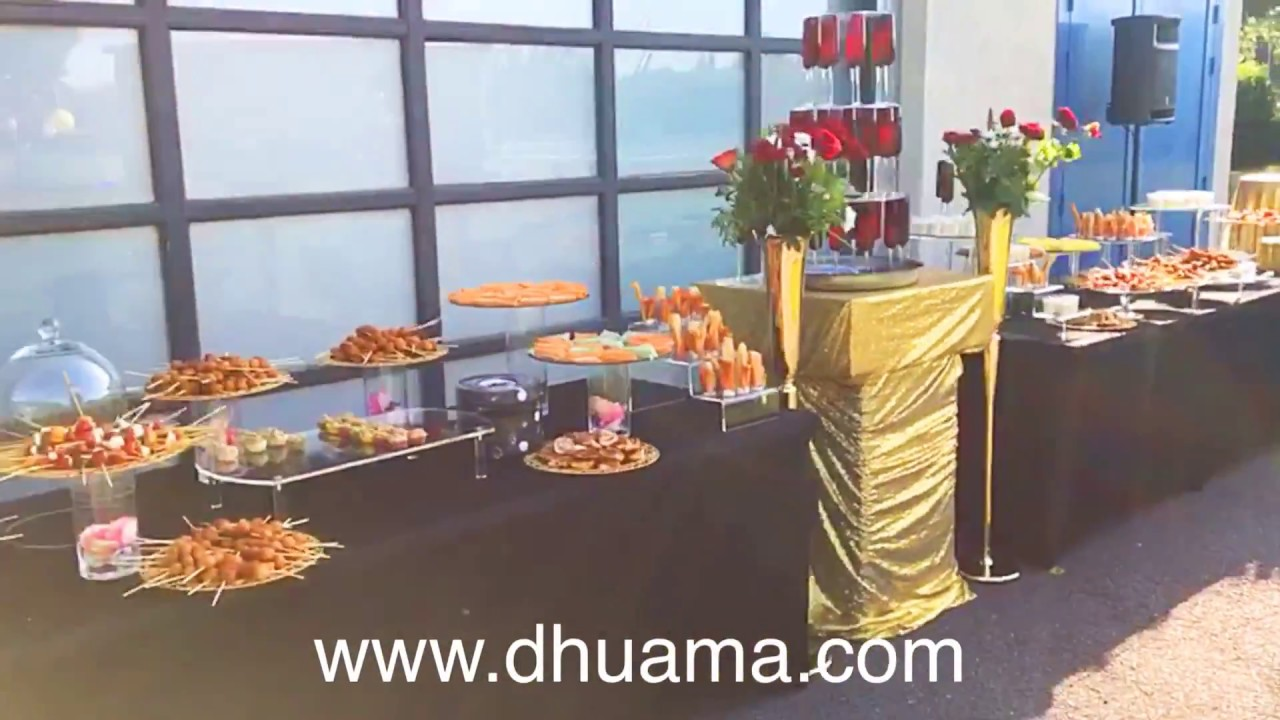 Vin d 39 honneur jazzy glamour par dhuama le meilleur for Decoration table vin d honneur