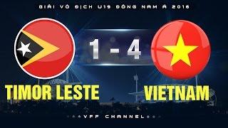 timor leste 1-4 vietnam  highlights