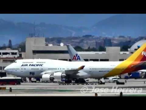 Air Pacific Fiji Airways at LAX Video Archives