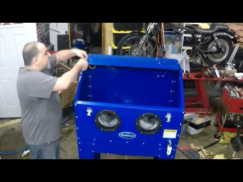 Eastwood Blast Cabinet Assembly Part 4