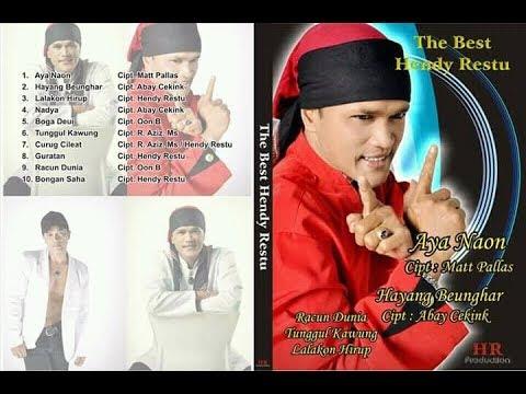 Album Pop Sunda The Best Hendy Restu.