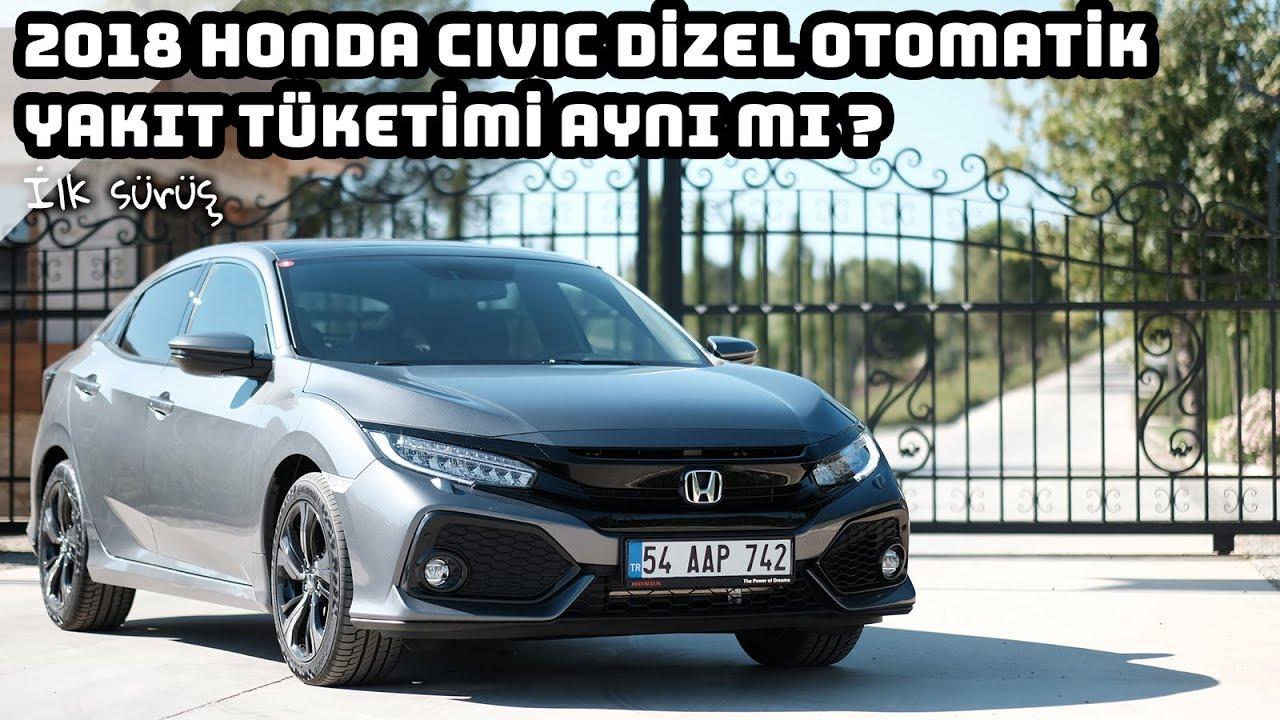 2018 Honda Civic 16 I Dtec Dizel Otomatik Civic Incelemesi
