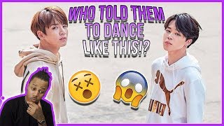 (BTS) JimKook - Black Or White (Michael Jackson Dance Cover) | Prom Party | Reaction!