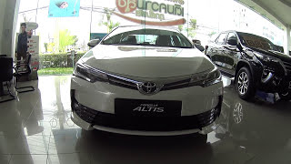 2018 Toyota Altis facelift affordable sedan from Toyota