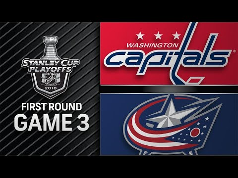 Capitals top Blue Jackets in double OT to take Game 3