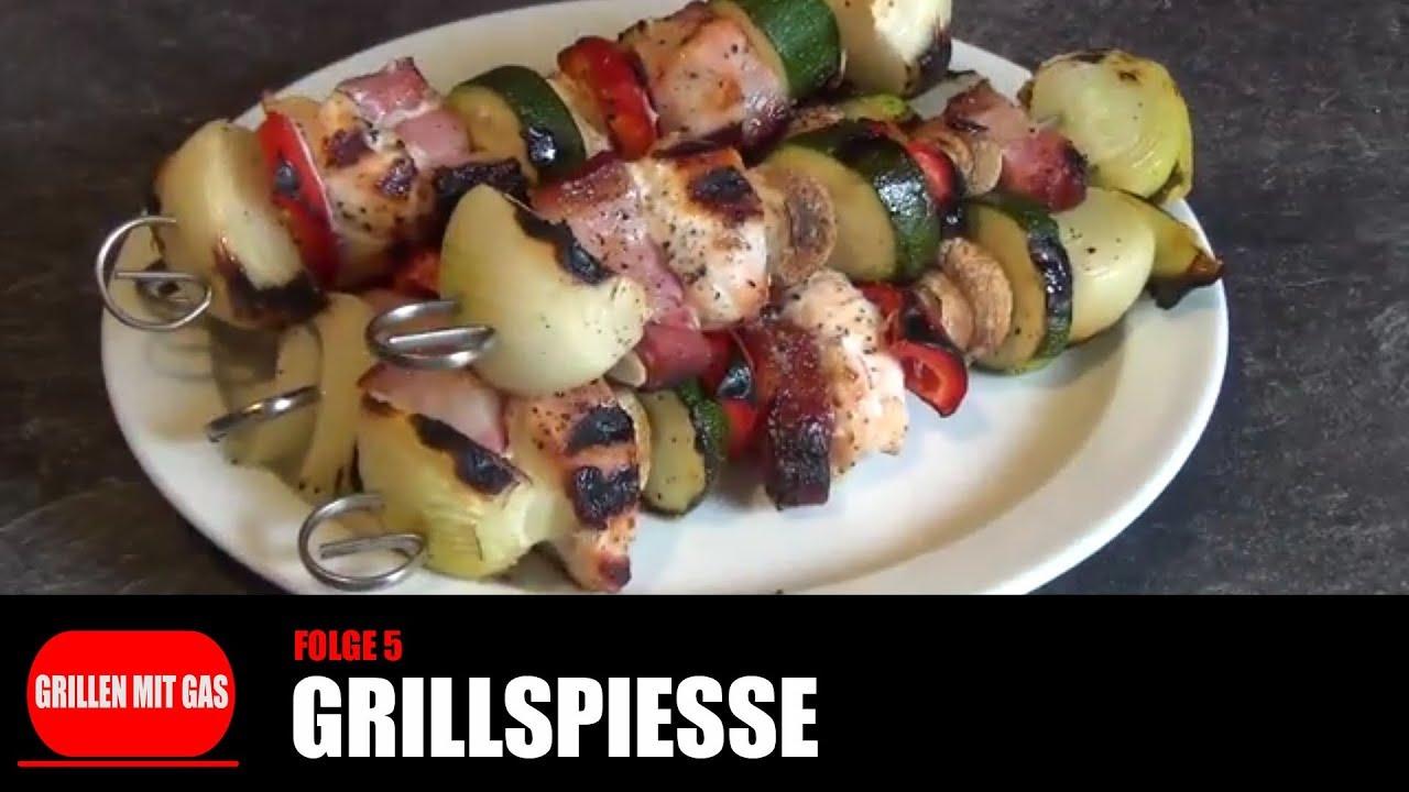 Rezepte Für Gasgrill Mit Deckel : Grillen mit gas grillspieße rezepte q gasgrill youtube