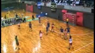 2010年11月19日(金)インカレ女子【延長戦】・福岡大学vs日本女子体育大学