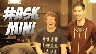 #AskMini w/ Lui Calibre & DaithiDeNogla! - My Mixtape, Relationship Advice, Superpowers & More!