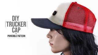 Trucker Cap DIY