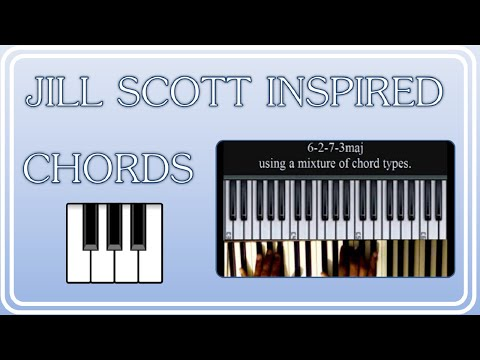 Jazzy Chord Progression 6 2 7 3maj Jill Scott Esque Youtube