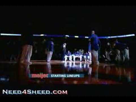 Intros Detroit Pistons